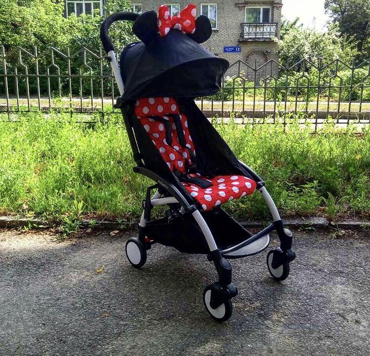 Беби Тайм коляска детская прогулочная Baby Time аналог Yoyo фото №1