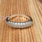 Кольцо серебряное Узкий Шик