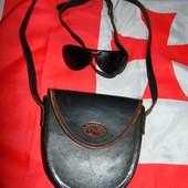 Фирменная кожаная сумочка сумка бренд Bag (Бэг)