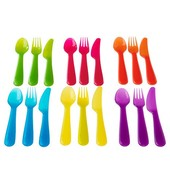 Столовый набор,18 предметов, 901.929.62  разные цвета Калас Kalas Ikea Икеа В наличии!