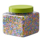 Красочные бусины для термомозаики Пюсла Pyssla 603.160.73 Икеа Развивающие игрушки ikea в наличии!