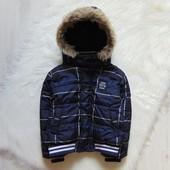 Стильная демисезонная куртка для мальчика. Fagottino. Размер 3 года, будет раньше