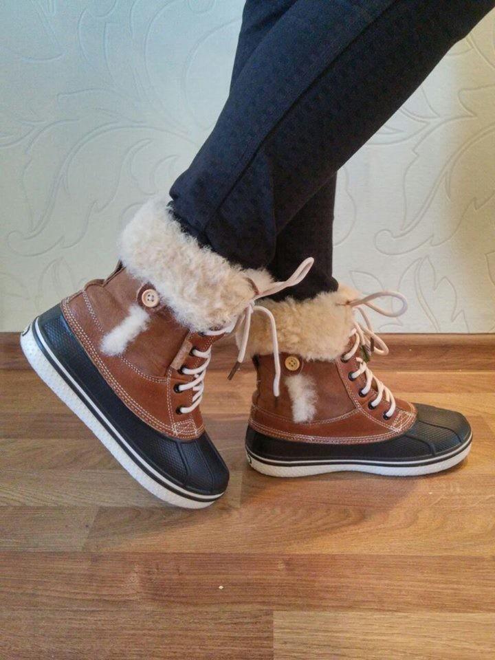 Кроксы зима женские