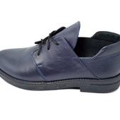 Мокасины женские Violeta 20-2 синие