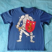 Продам футболку Рыцарь мальчику 12 лет.