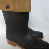 Итальянские резиновые сапоги, 43р, мех съемный, Tacoma Dry walk, не промокают, 26-27см