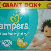 Pampers Active Baby Dry  4+