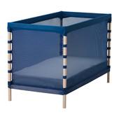 Кроватка детская, бук, классический синий, Икеа Flitig, 602.261.38 Ikea В наличии!