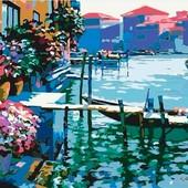 Картина по номерам Роспись на холсте Утро в Венеции KH227
