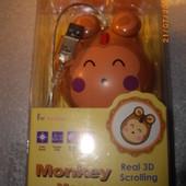 Компьютерная мышка Monkey mouse real 3D scrolling Тайвань