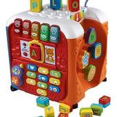 VTech Большой игровой, развивающий, музыкальный, алфавитный Куб alphabet activity cube