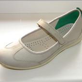 Туфли   балетки р. 39  25,5 см  Ecco