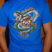 Фирменная футболка стильная Jhk л-хл .