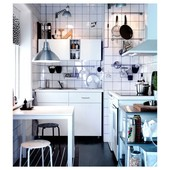 Стол, белый, 75x75 см Икеа Мельторп, 390.117.81 Melltorp Ikea В наличии!