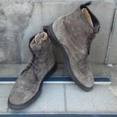 Ботинки броги замшевые р-р. 43-й (28 см)