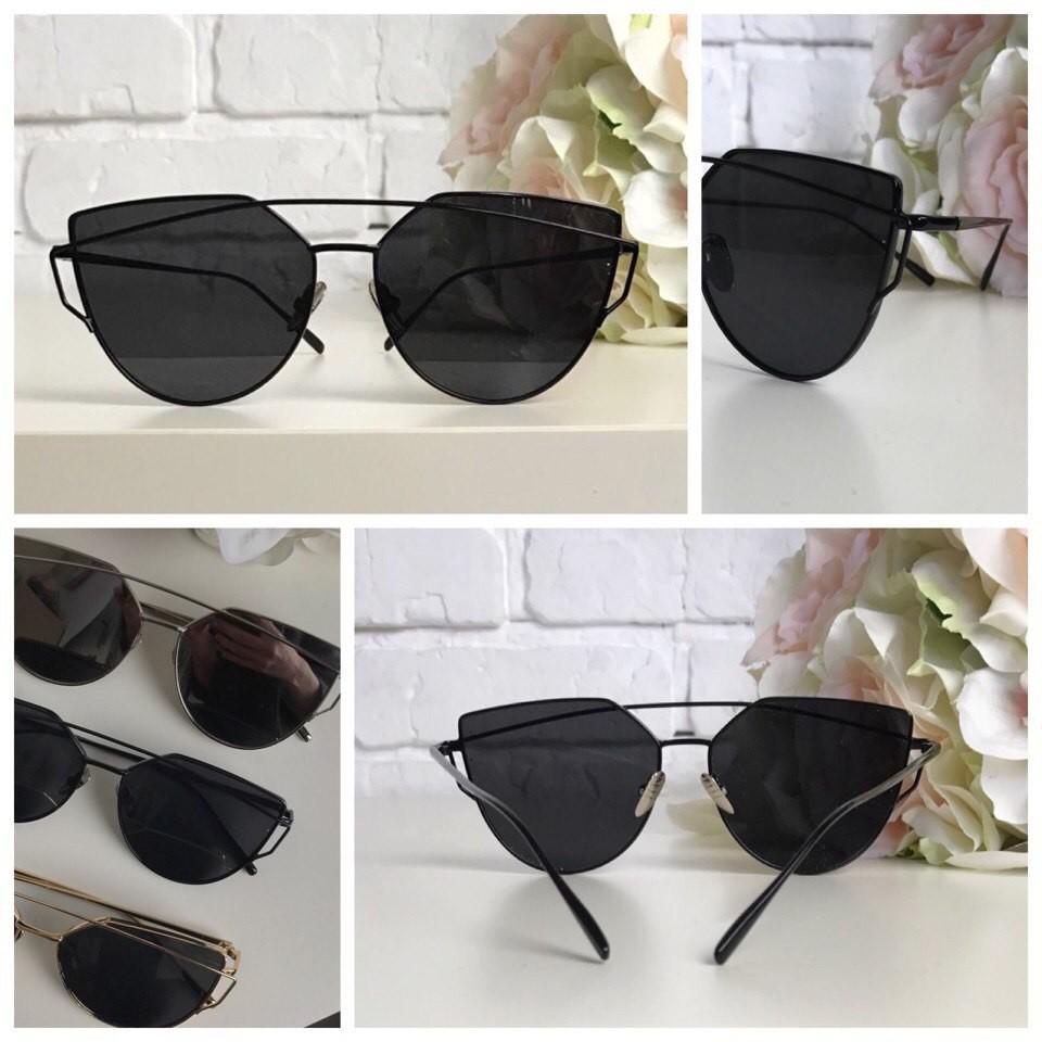 Шикарные очки-оверсайз с деструктурированной формой pantos фото №1