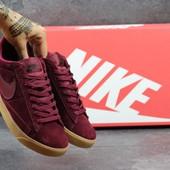 Кроссовки женские Nike SB Burgundy, топ качество