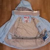 качественная лыжная термо-куртка Trespass, р.122-128, на 7-8лет