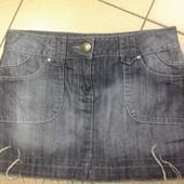 юбка джинсовая, размер 10