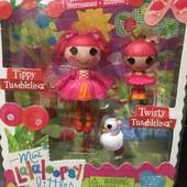 Набор с куклой Mini Lalaloopsy Дюймовочки-балерины, серия Сестрички