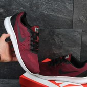 Кроссовки сетка Nike Free RN burgundy