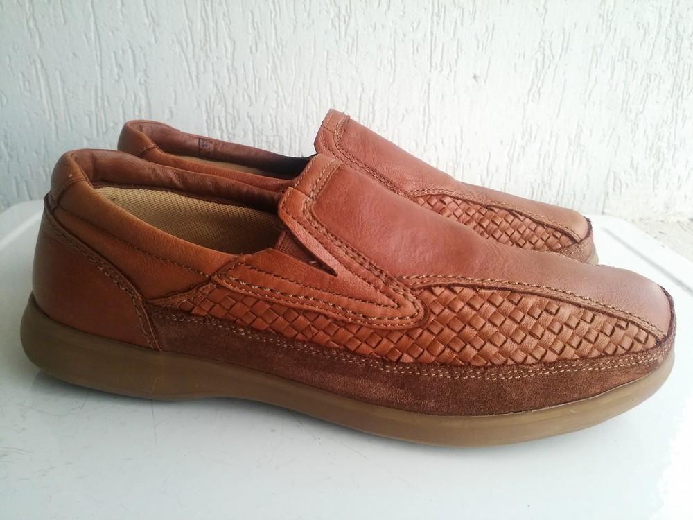 Кожаные туфли Clarks 42,5 р. Камбоджия. фото №1