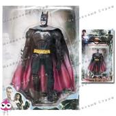 Фигурка супергероя Бэтмен batman, руки ноги подвижны, свет