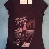 Продам футболку размер s женскую, подростковую Michael Jackson. Оригинал от Music Legends.
