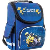 553411 Ранец каркасный 1 Вересня Smart  Moto