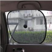 Шторы от солнца в автомобиль авто машину на присосках 2 шт. в комплекте
