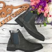 Мужские ботинки челси Zign оригинального оттенка  SH3133