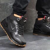 Зимние мужские кроссовки Nike black 6589