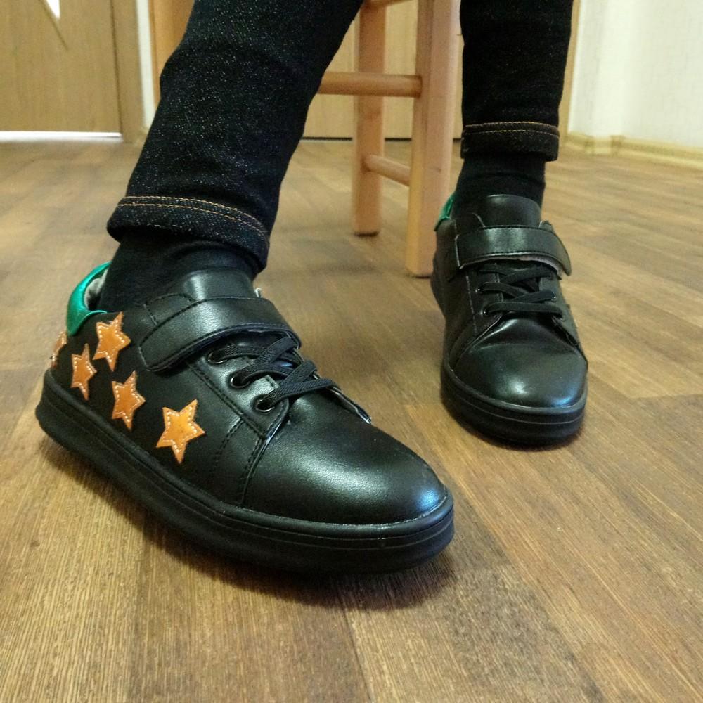 Кеды-кроссовки-туфли звезды, р. 26-35 фото №1