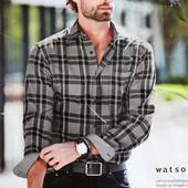 Рубашка в клетку Watsons размер XXL ворот 45-46