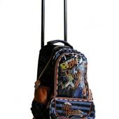 Рюкзак школьный на колесах гарантия 12 мес