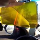 Cолнцезащитный козырек для автомобиля HD Vision Visor