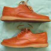 Marc (40, 25,5 см) кожаные туфли дерби мужские
