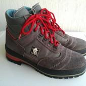Замшевые демисезонные ботинки Range 41 р. Италия.