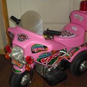 Детский электромотоцикл Bambi Brave A-02