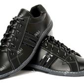 40 и 43 р Мужские спортивные туфли демисезонные (КТ-24чн)