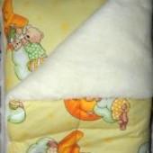 Детский комплект одеяло и подушка шерсть