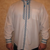 Рубашка вышиванка размер 52-54/44см
