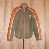 Брендовая Куртка Tom Tailor(Кожа+Нубук)