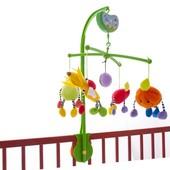 Музыкальный мобиль, подвеска Biba Toys Сочные фрукты