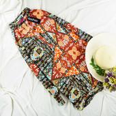 M Новое Яркое платье-рубашка boohoo