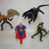 Полная коллекция Супергероев из Макдональдс новые