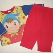 комплект,пижама на 12-18 месяцев