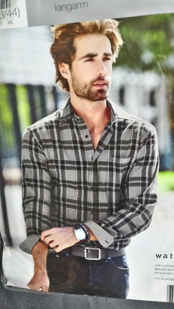 хлопковая рубашка.Watsons/Германия.XL фото №1