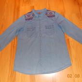 Стильная рубашка H&M для мужчины (подростка), размер L