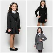 Жасмин Жакет пиджак школьный, 122-146р. синий,черный,серый